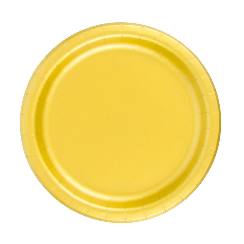 Plates - Sunshine Yellow (CLEARANCE)