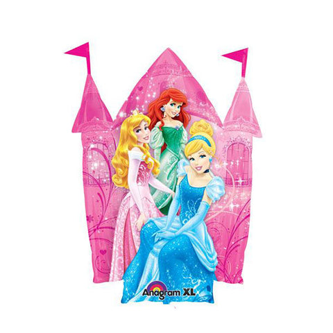 Jumbo Disney Princess Castle Balloon - 35 in