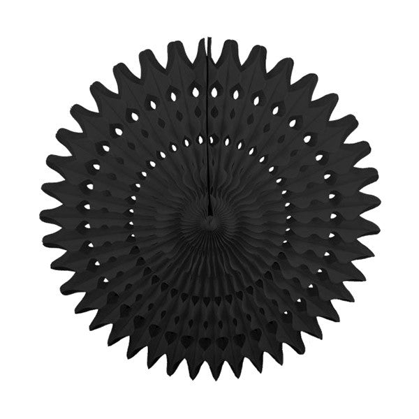 Tissue Fan 21 in - Black