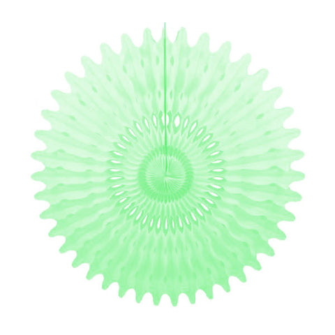Tissue Fan 26 in - Mint Green
