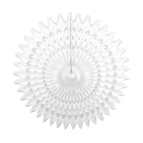 Tissue Fan 21 in - White