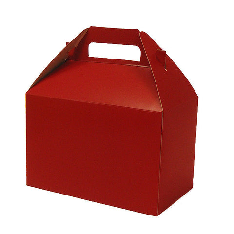 Favor Box - Brick Red (8x5x5)