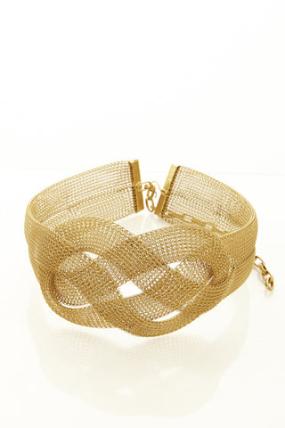 Sarah Cavender Metalworks Large Knot Belt *more colors available