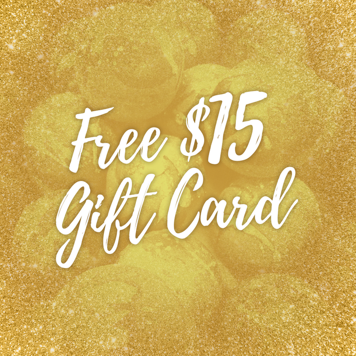 Black Friday: FREE $15 Gift Card