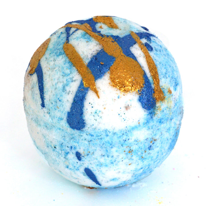 Madame Blueberry Bath Bomb by Antoinette's Bathhouse