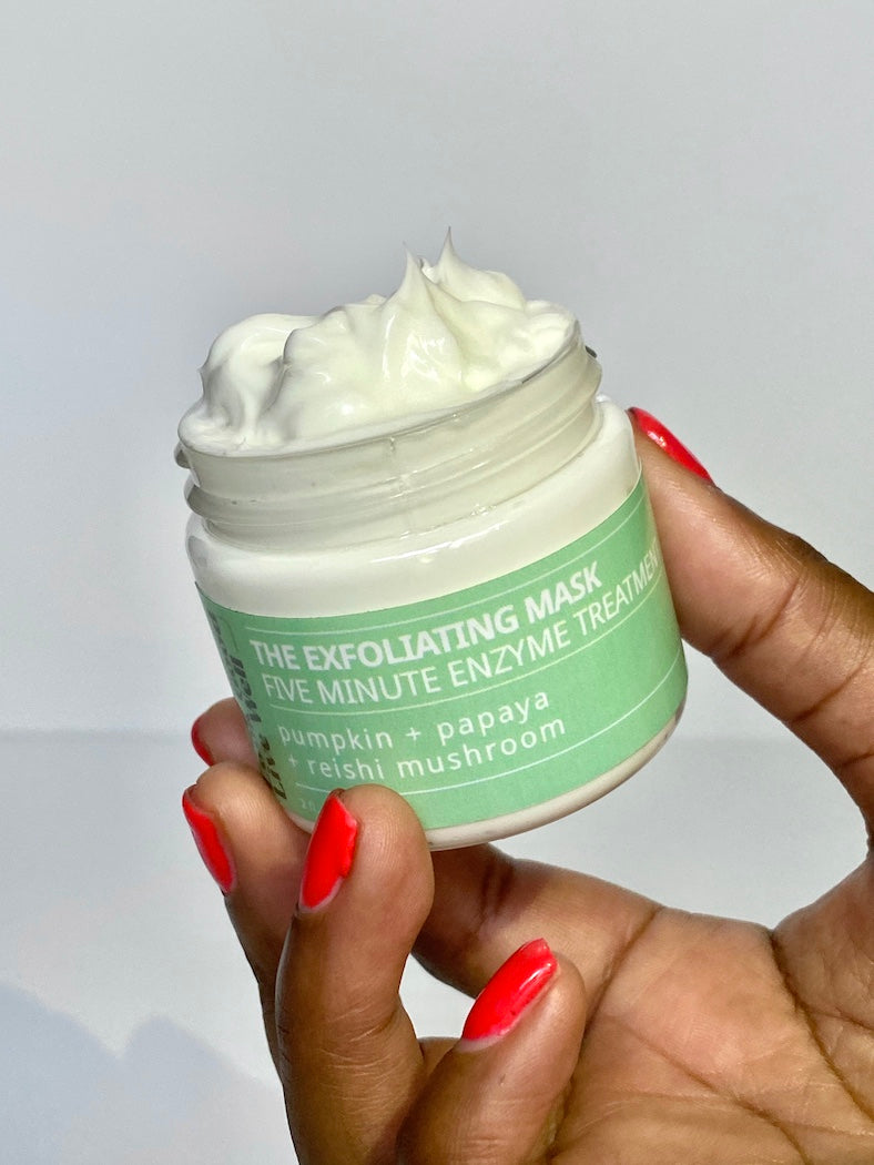 Look Good Live Well exfoliating mask
