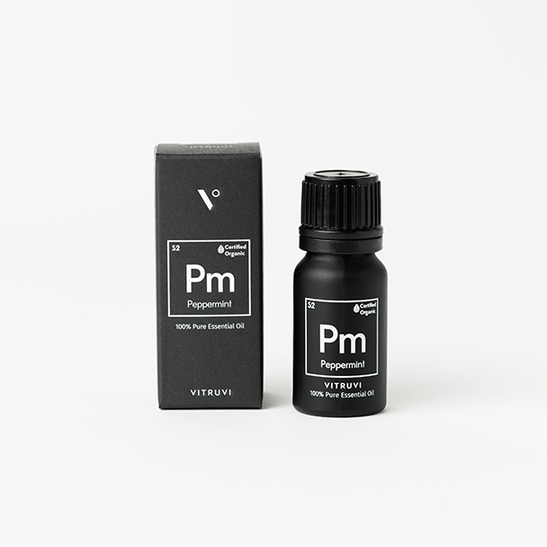 Organic Peppermint Essential Oil - Vitruvi
