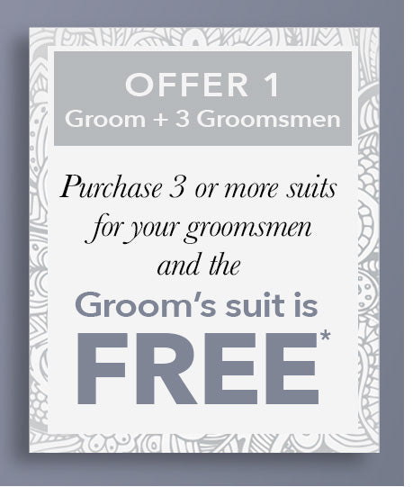 We'll Dress the Groom for Free