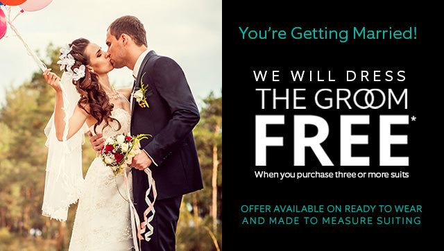We will dress the Groom for Free | Ron Bennett