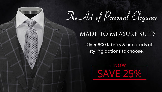 Made to Measure Suits at Ron Bennett - Now 25% Off