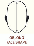 Oblong Shape Face