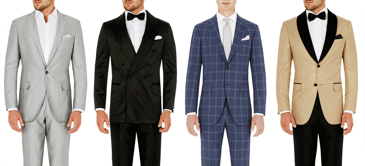 GROOMS OFFER MENS WEDDING SUITS