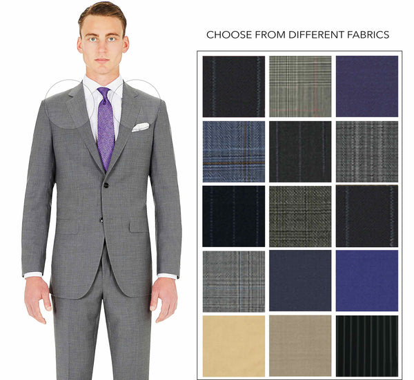 Tailor Made Business Suit Fabric Swatches