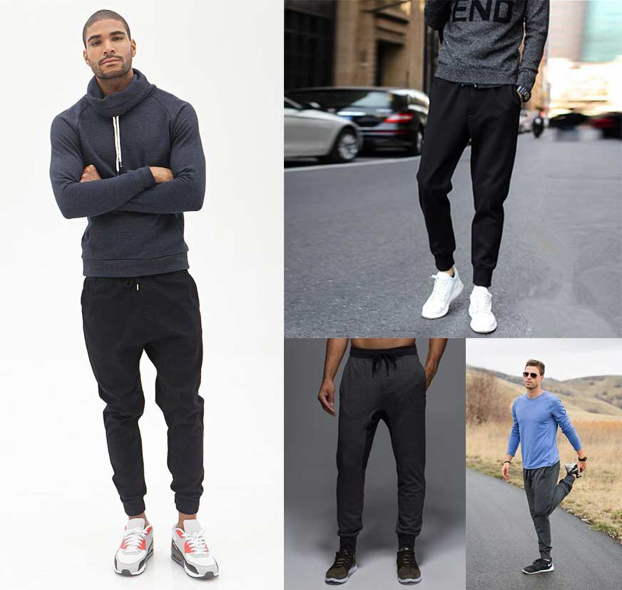 Slim sweat pants- Mens