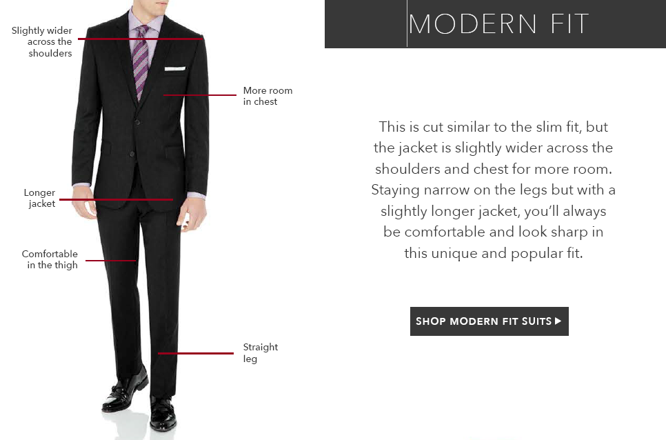 The Modern Fit Suit