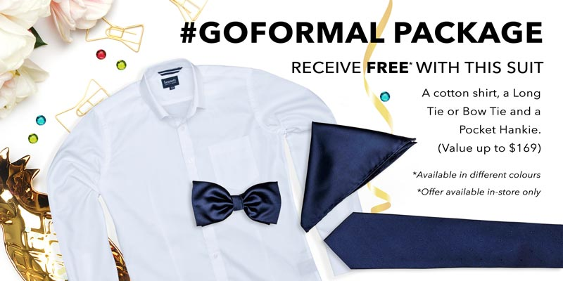 GOFORMAL Free Extras
