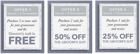 Groom's Offers