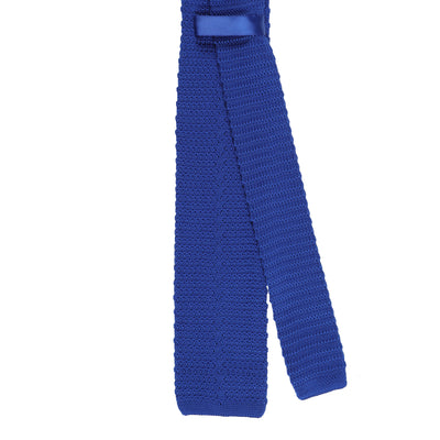 CEO Made In Italy Knitted Tie in Royal