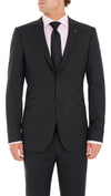 Blackjacket Wool Suit in Dark Grey - Ron Bennett Menswear  - 3