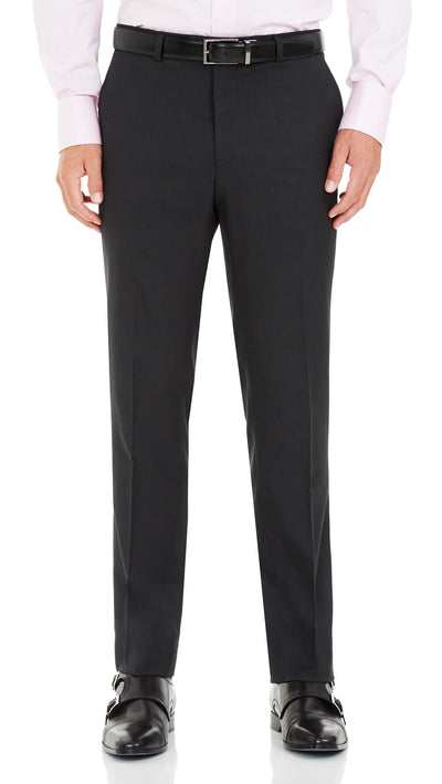 Blackjacket Wool Suit in Dark Grey - Ron Bennett Menswear  - 5