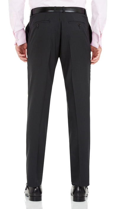 Blackjacket Wool Suit in Dark Grey - Ron Bennett Menswear  - 6