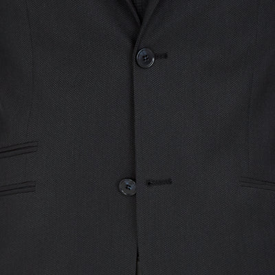 Blackjacket Wool Suit in Dark Grey - Ron Bennett Menswear  - 9