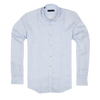 CEO Linen Shirt in Sky Blue - Ron Bennett Menswear  - 1