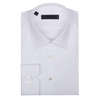 CEO Slim Fit Shirt in White Fine Check