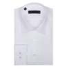 CEO Slim Fit Shirt in White Fine Stripe - Ron Bennett Menswear