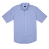 Bennett Short Sleeve Shirt in Sky - Ron Bennett Menswear  - 1