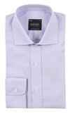 Bennett Signature Business Shirt in Mauve - Ron Bennett Menswear