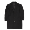 Bennett Heritage Overcoat in Charcoal