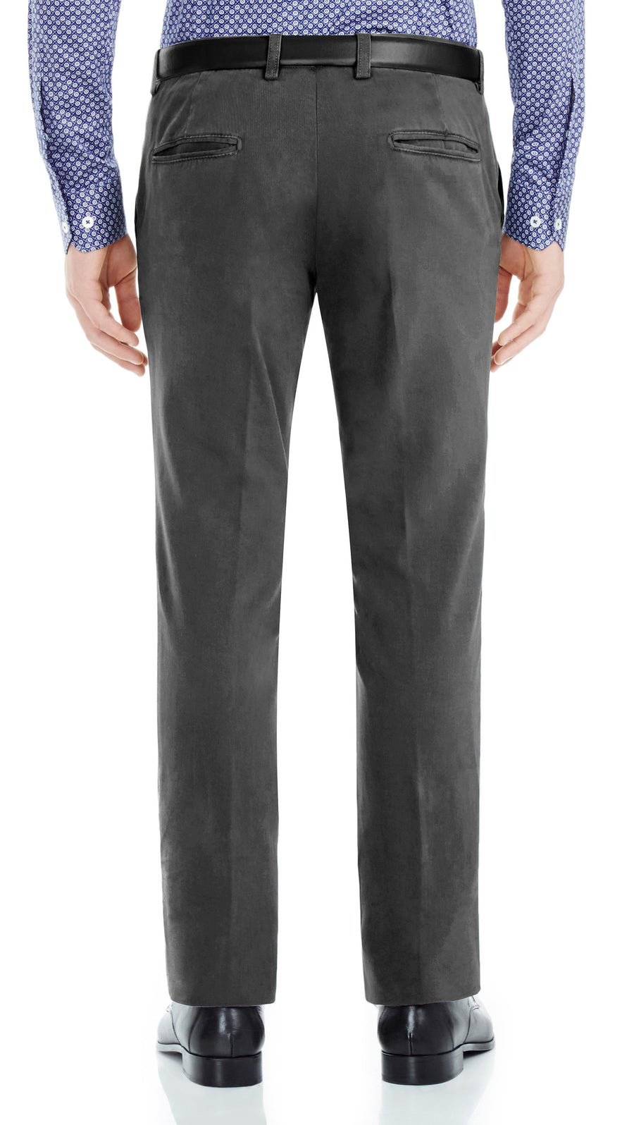 Bennett Italian made Cotton Chino in Buio