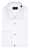 Bennett Signature Dinner Shirt in White - Ron Bennett Menswear