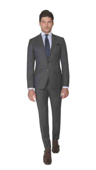 GOFORMAL Performance Suit in Nero - Ron Bennett Menswear  - 2