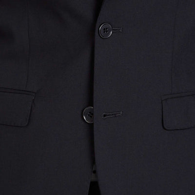 Trench Slim Fit Suit in Black - Ron Bennett Menswear  - 8