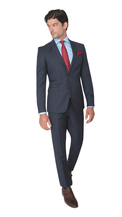 GOFORMAL Performance Suit in Dark Blue - Ron Bennett Menswear  - 5