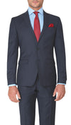 Trench Slim Fit Suit in Dark Blue