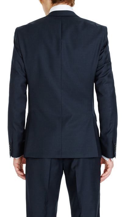 GOFORMAL Performance Suit in Dark Blue - Ron Bennett Menswear  - 11
