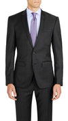 Grey Slim Fit Performance Suit for School Formals - Ron Bennett Menswear  - 3