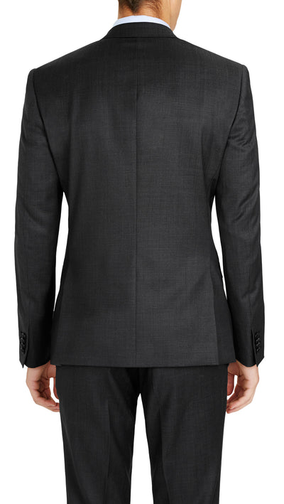 Grey Slim Fit Performance Suit for School Formals - Ron Bennett Menswear  - 4