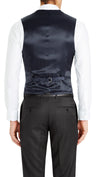 Trench Five Button Vest in Dark Blue   |   Testing - Ron Bennett Menswear  - 2