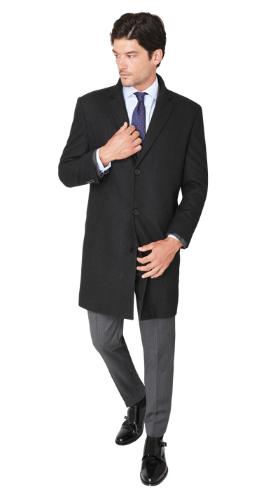 GOFORMAL Performance Suit in Nero - Ron Bennett Menswear  - 8