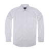 Bennett Long Sleeve Smart Casual Shirt in White - Ron Bennett Menswear  - 1