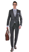 James Derby Modern Classic Fit Suit in Dark Grey - Ron Bennett Menswear  - 1
