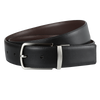Ron Bennett Reversible Leather Belt in Brown / Black - Ron Bennett Menswear  - 2