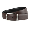Ron Bennett Reversible Leather Belt in Brown / Black - Ron Bennett Menswear  - 1