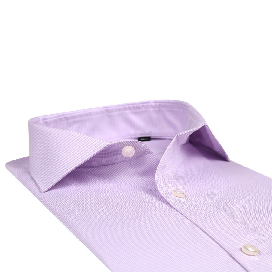 "Bennett Signature ""Slim Fit"" Business Shirt in Mauve"