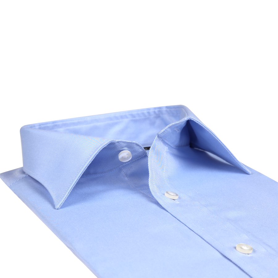 "Bennett Signature ""Slim Fit"" Business Shirt in Blue"