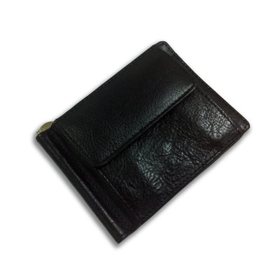 Bennett Leather Wallet in Black - Ron Bennett Menswear  - 1